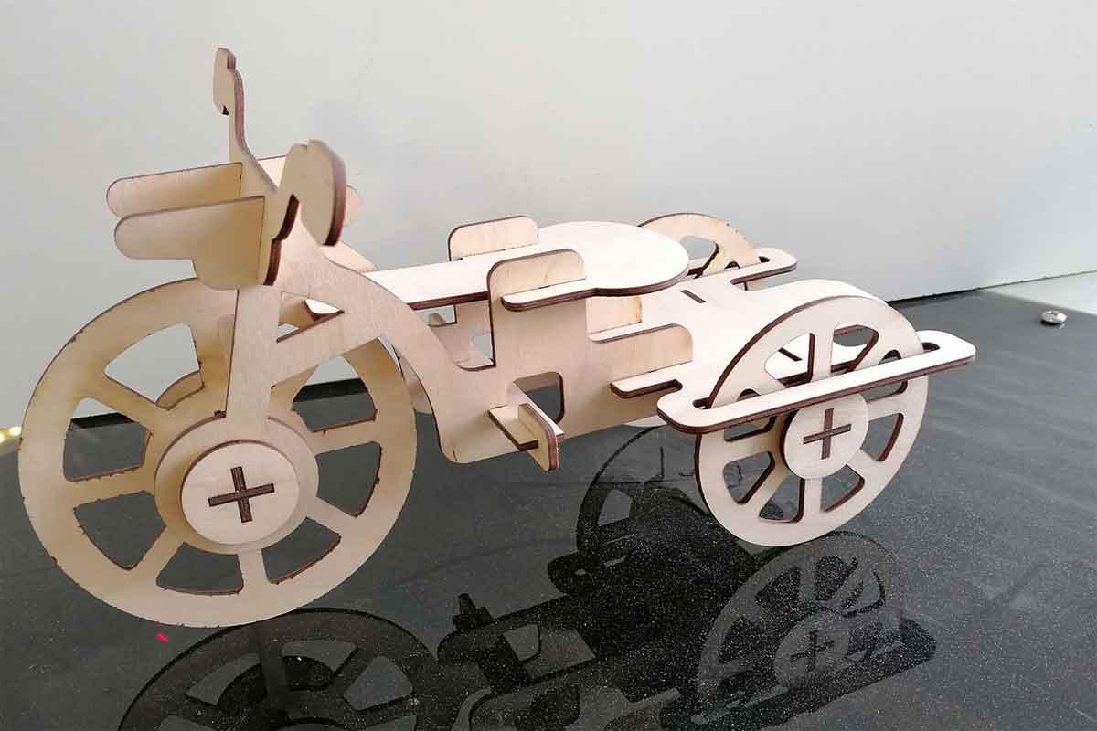 triciclo legno